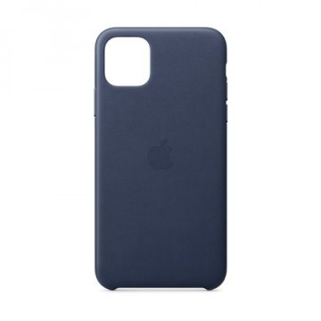 Apple iPhone 11 Pro Max Leather Case MX0G2ZM/A  Midnight Blue