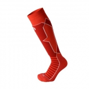 Mico Woman Performance Ski Sock / Sarkana / 41-42