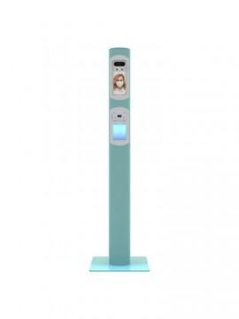 V7 Cleanium Thermoscan - Sanitizing gel contactless distributor with integrated Thermoscan